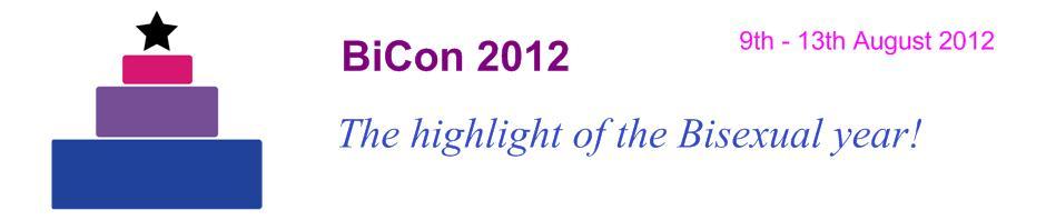 BiCon 2012